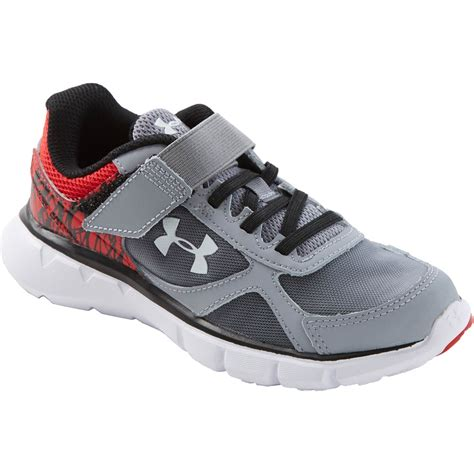 armour boys velocity rn ac preschool shoes 165 | 7170534 XGBK