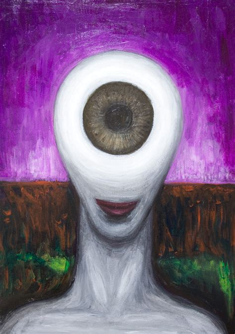 female cyclopsnew surrealism female monster portrait