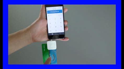 square reader  emv chip credit cards youtube