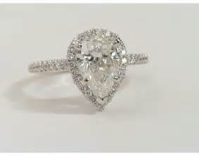 pear shaped engagement ring pear shaped engagement rings wedding and bridal inspiration