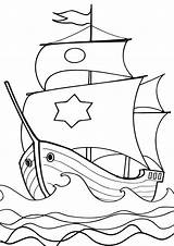 Coloring Sail Pages sketch template