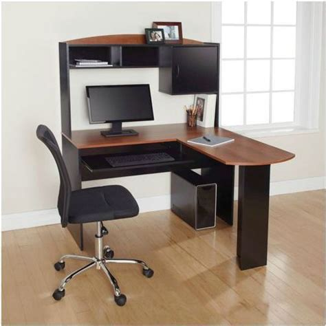 l shaped desk with shelves l shaped desk with hutch compact design shelves slide out
