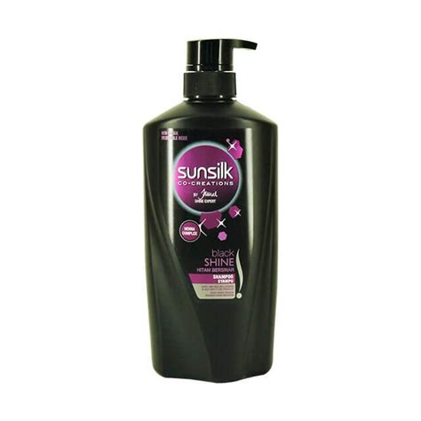 Harga Sunsilk Black Shine Leave On sunsilk shoo 650ml stunning black shine e shop