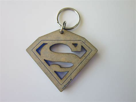 Superman Rare Laser Etched Cut Warner Brothers Store Promo