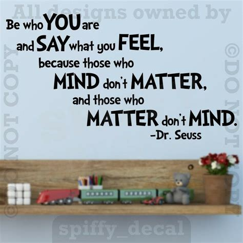 dr seuss     quote vinyl wall decal sticker