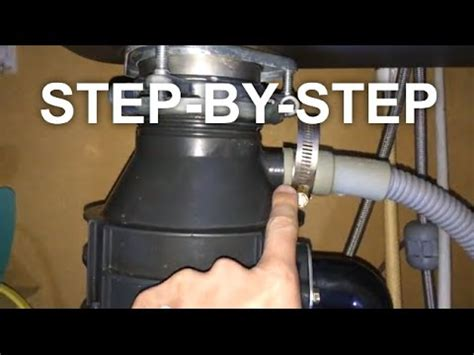 garbage disposal leaks easy fix save youtube
