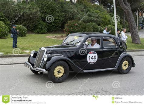 1000 Miglia Lancia Aprilia Berlina 1350 1939 Scotto