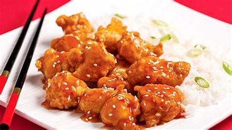cuisine été recette poulet général tao