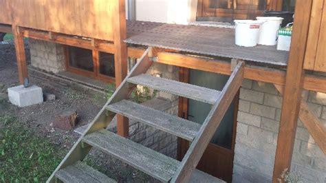 holztreppe außen selber bauen holztreppe im aussenbereich selbst de diy forum