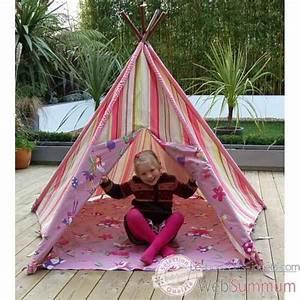 Tente Enfant Exterieur : tipi tente pour enfant maison des elfes the old basket 51004a dans tente et tipi ~ Farleysfitness.com Idées de Décoration