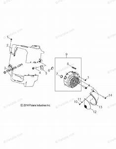 Polaris Side By Side 2015 Oem Parts Diagram For Engine