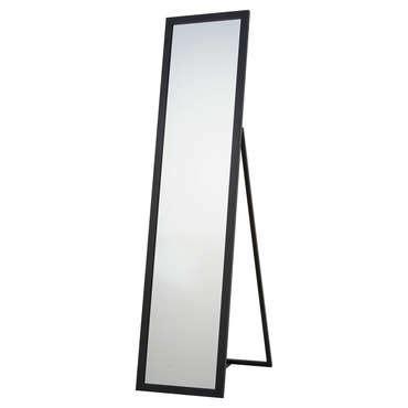 miroir psyche pas cher miroir psych 233 30x140 cm manon coloris noir vente de miroir sur pied et psych 233 conforama