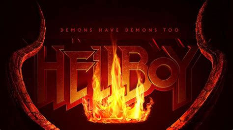 hellboy  poster released trailer announced