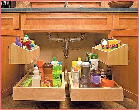 sink kitchen cabinet kitchen sink cupboard pull out shelves by rick s 6563