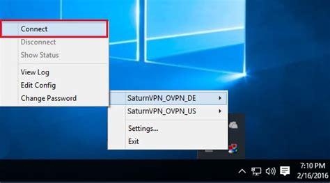 openvpn  windows  saturn vpn