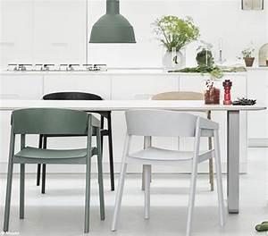 la cuisine passe a lheure scandinave elle decoration With salle À manger contemporaineavec fauteuil design salle a manger