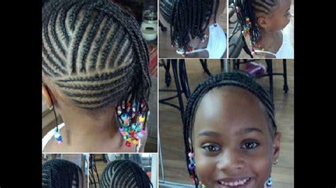 kids cornrows hairstyles black natural children