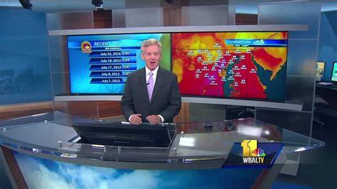 Photos: WBAL-TV 11 News studios through the years