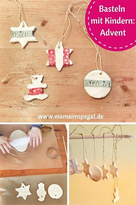 weihnachtsdeko mit kindern basteln christbaumschmuck aus