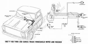 Windshield Wiper Wiring Diagram 1967 Ford F100 1967 F 100
