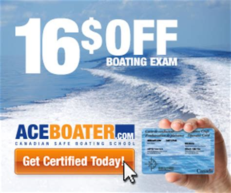 Pa Boating License Coupon Code by Get 11 Today Boaters Test Coupon Code 2015