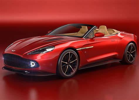 aston martin aston martin vanquish zagato volante revealed at pebble