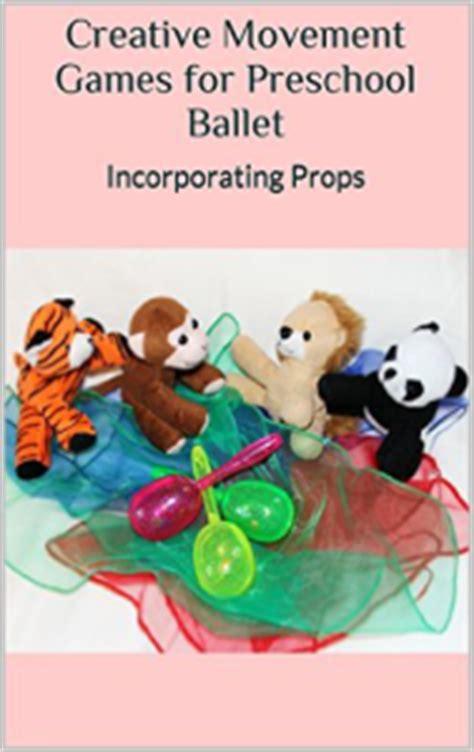 creative movement for preschool ballet 248 | Props Book Cover 189x300