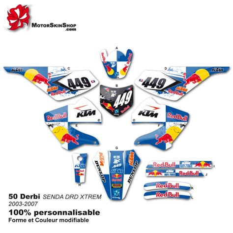 kit deco derbi drd pin kit deco derbi on