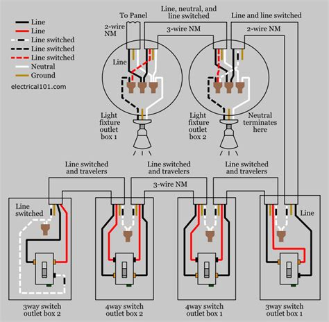 alternate   switch wiring electrical