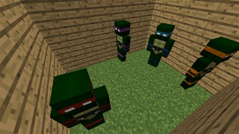 teenage mutant minecraft turtles mod minecraft