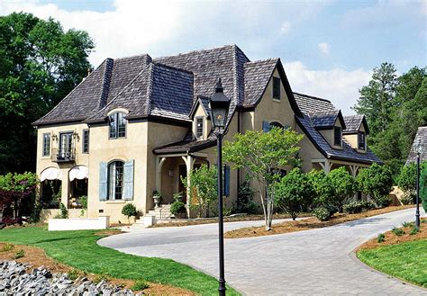 french country manor lv architectural designs house plans