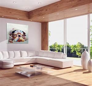 Tableau Salon Design : colorful dog tableau contemporain ~ Teatrodelosmanantiales.com Idées de Décoration