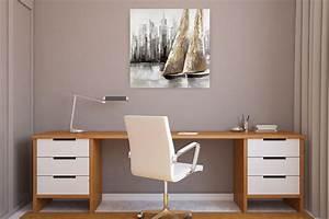 Wandbilder Fürs Büro : gem lde wandbilder f r b ro praxis von kunstloft homify ~ Bigdaddyawards.com Haus und Dekorationen