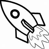 Rocket Coloring Astronaut Fast sketch template