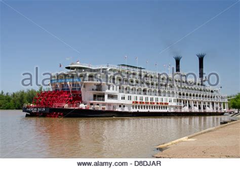 Mississippi River Boat Cruise Wisconsin by American Paddlewheel Ship On Mississippi River