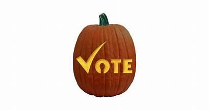 Pumpkin Carving Vote Pattern Patterns Lady Stencil