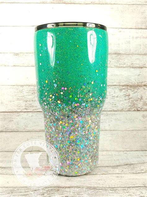 custom glitter tumbler glitter yeti personalized