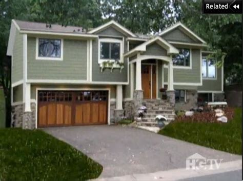 Photos And Inspiration Split Level Curb Appeal by Pin By Erika Cbell On For The Home