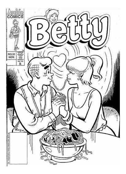 Coloring Pages Archie Comics Riverdale Colouring Betty