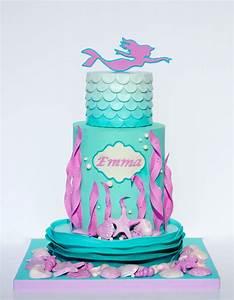 Mermaid Cake - CakeCentral com