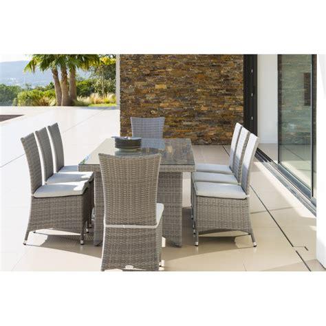 table chaise jardin resine tressee maison design hosnya