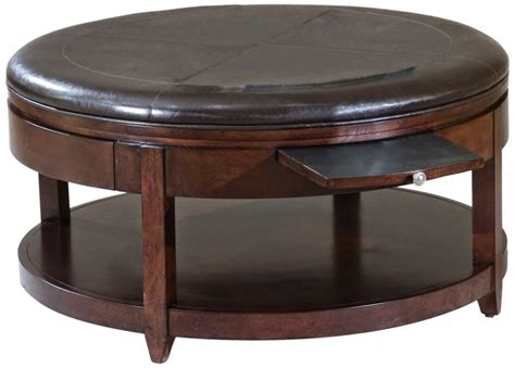 glass ottoman coffee table furniture dakota round chrome glass coffee table with