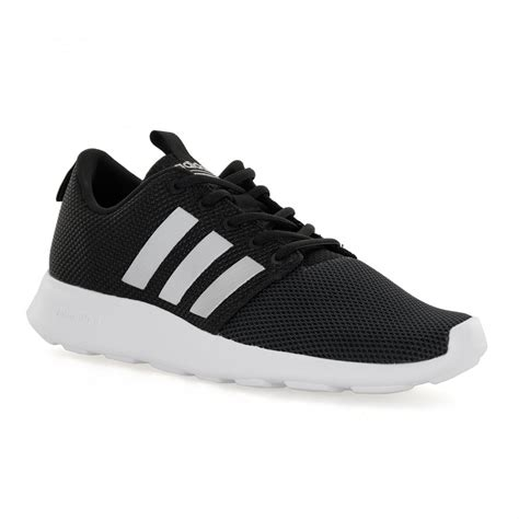 adidas city racer adidas neo mens cloudfoam 117 trainers black