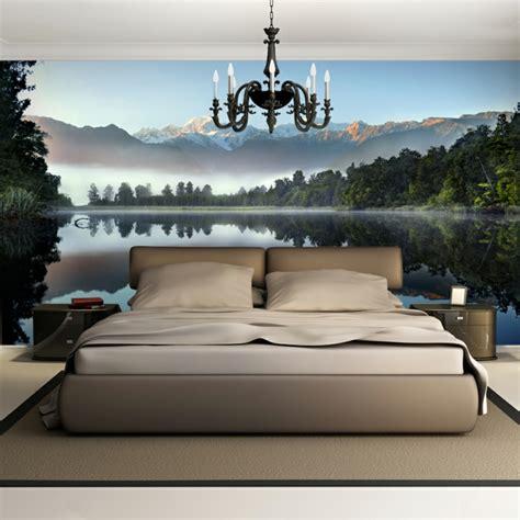 wandtapete schlafzimmer schlafzimmer ideen mit raffiniertem touch und hohem stil