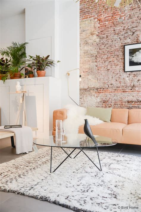 exposed brick wall chicdeco blog refined exposed brick walls