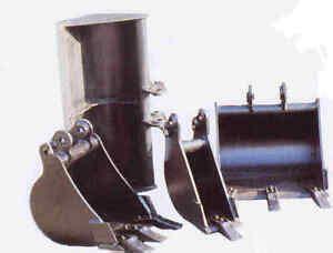 kubota kx    mini excavator digging buckets   sizes    ebay