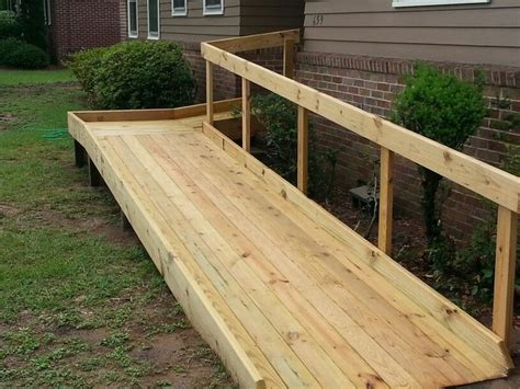 wheelchair ramp ideas  pinterest ramps  wheelchairs wheelchairs  wheelchair