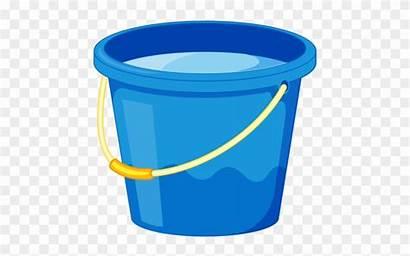 Bucket Water Cartoon Clipart Transparent Pngio