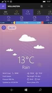 Perfect Weather Universal review - All About Windows Phone