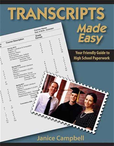 homeschool transcript templates az homeschooling